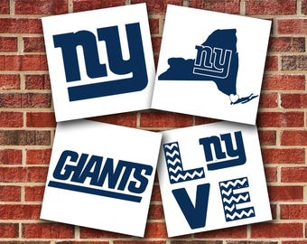 New York Giants Vinyl Decal Sticker