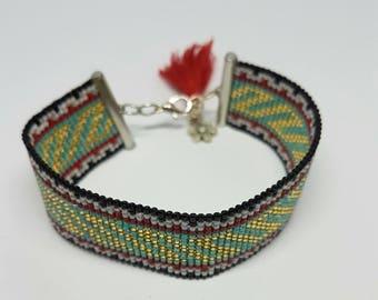 BOHEMIAN bracelet, Boho, Ibiza, Seed beads.