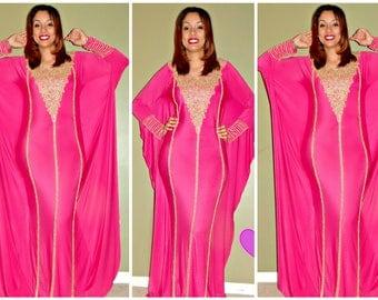 Zara Butterfly  Kaftan dress/ Kaft/ Abaya/spandex