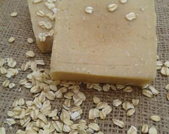 Dry Skin - Honey Oatmeal Goat Milk Soap