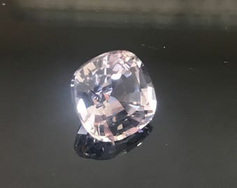 Incredible AAAA 9.3 Ct Cushion Cut White Sapphire