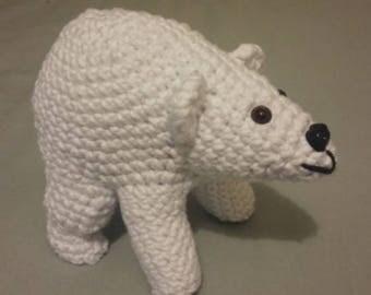 POLAR bear - crochet