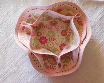SALE 10% alveoli shape flower basket (bread or empty Pocket).