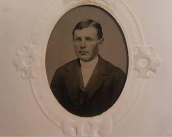 Tintype Photo of 19th Century Gentleman
