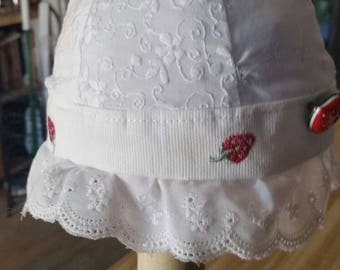 Little eyelet hat for your Little baby, toddler, child
