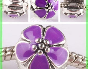 Pearl N631 clip stopper European blocker rhinestones for charms bracelet