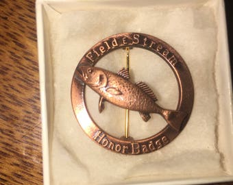 Field and Stream Honor Badge