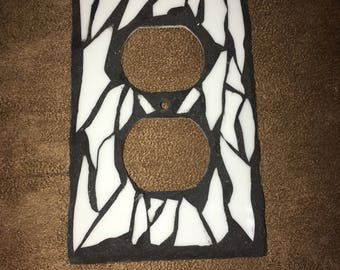 Mosaic Outlet Cover Plate