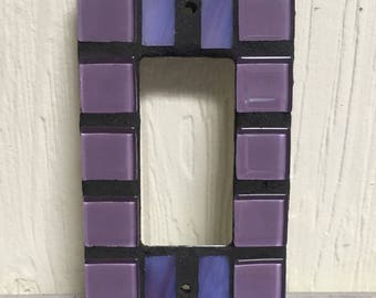 Single purple gfi or slide light switch cover page