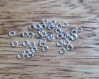 Jump rings perfect 3mm Silver earrings