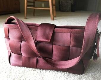 Vintage Harveys Seatbelt Bag