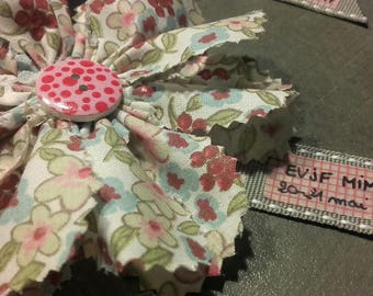Bachelorette party liberty flower brooch
