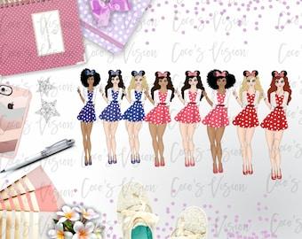 Minnie's Girls Die Cut