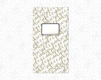 Traveler's Notebook insert: December/Christmas