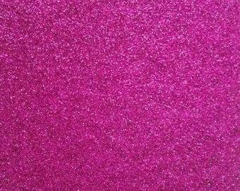 Fabric flex fusible pink glittery 30x20cm