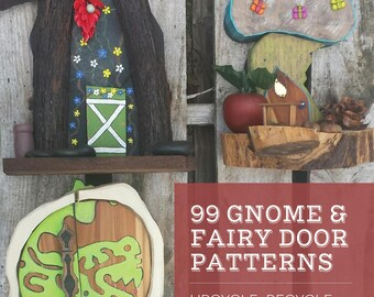 99 Gnome and Fairy Door Patterns