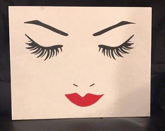 Lash and Lip Canvas