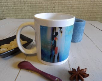 """Mug """"A cache cache"""" (double-sided printing)"""