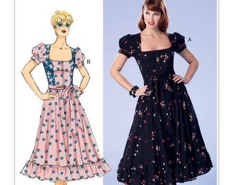 Vintage by B6352 retro Butterick sewing pattern