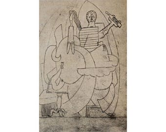 Pablo Picasso Limited Edition on Arches 1926