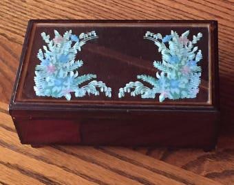 Jewely Box Mirrored Glass Mid Century