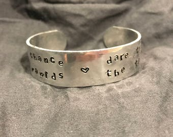BOGO SALE!! Chance and Dare Cuff