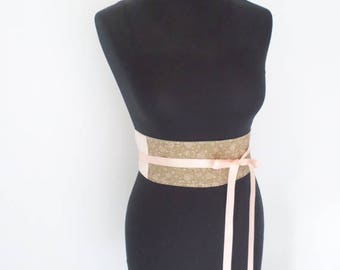 Obi style belt