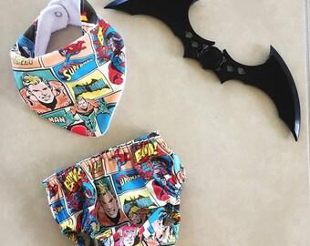 Superhero bloomer set