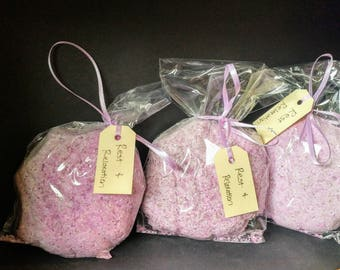 Rest and Relaxation Bath Bombs