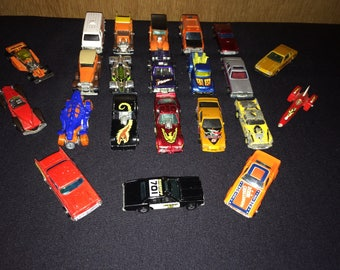 Diecast Cars 1970 and 1980 Vintage Hot Wheels Cars and Trucks