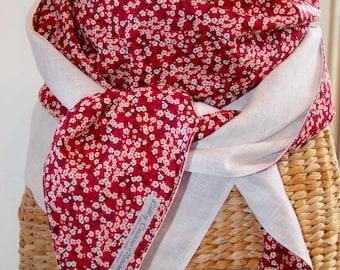 maxi scarf/shawl liberty of london / linen