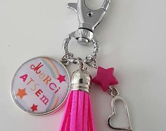 Keychain or school bag charm