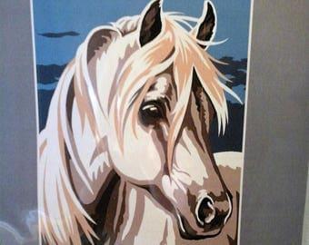Kit for children, Margot Canevas, horse canvas