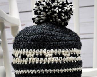 Westcoaster Beanie, Crochet Hat, Trendy Hat, Trendy Beanie, Boy Hat, Boy Beanie, Winter Hat, Winter Beanie, Warm Hat, Warm Beanie