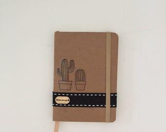 A mini handmade notebook