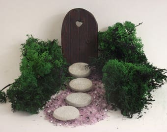 Enchanted Fairy Garden For Girls Fairy Garden Kit With Fairy Door And  Accessories