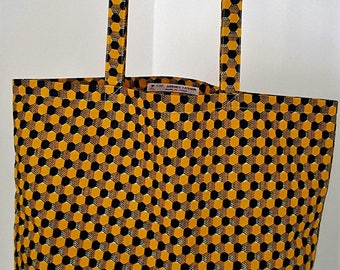 Tote bag African wax print ethnic bag