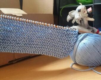 thin yarn scarf