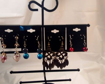 Earrings - 4 Pair Set