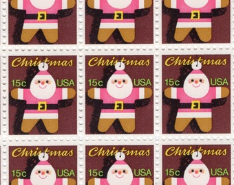 1979 Santa Claus - Christmas - Mint-Unused- US Postage Stamps - Scott 1800 - Full Sheet (100)