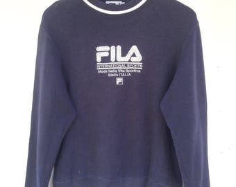 RARE Vintage 90s Fila pullover sweatshirt