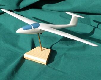 Glider ASK 21 wooden model