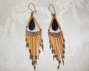 Vintage Handcrafted Earrings