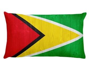Guyana design Rectangular Pillow