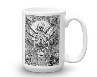 Undead Dark Art 15 oz Mug