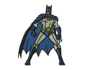 Batman Embroidery Design #4 - 3 SIZES