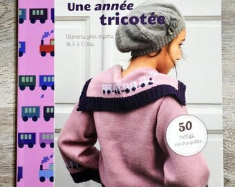 NEW - Book a year knitted - children's clothing