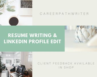 Resume Writing | LinkedIn Edit | Resume Writing Service | Resume Writer | Social Media Package