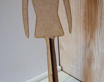 Hanger HD046 removable footed doll clothing