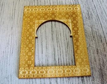 Photo frame wooden Littles 1304 embellishment